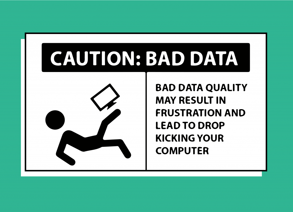 Caution: bad data