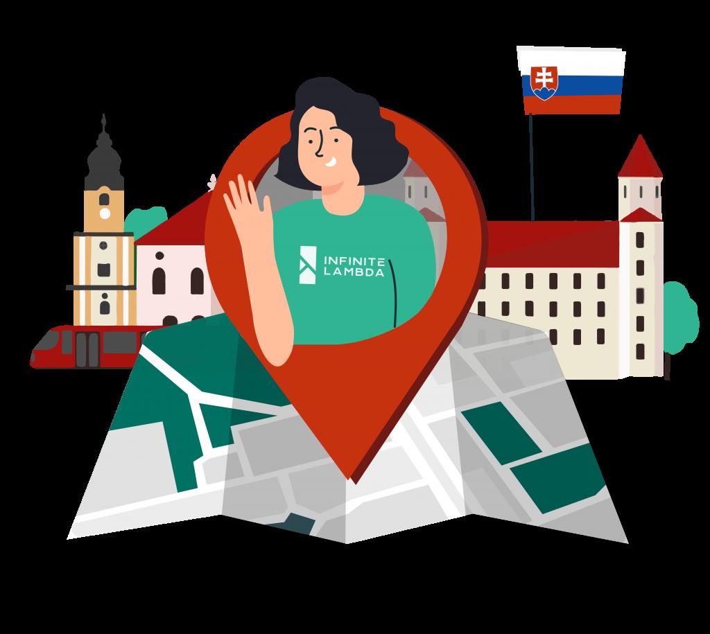 Hiring locations in Slovakia