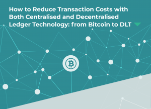 Bitcoin to DLT cover