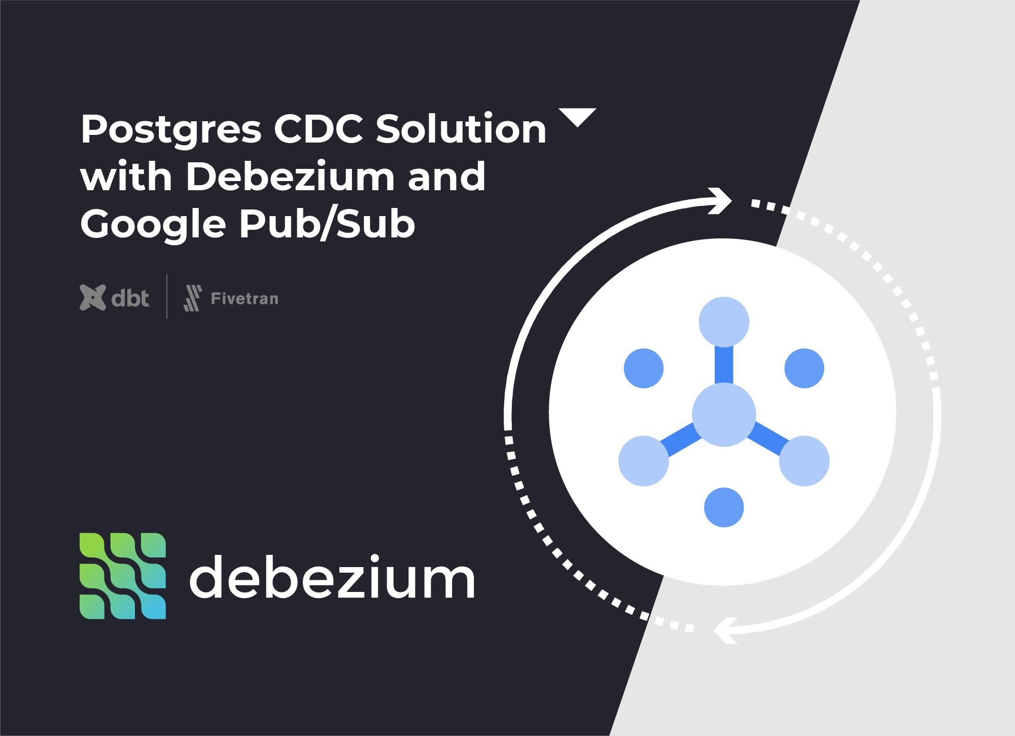Postgres CDC Solution with Debezium and Google PubSub